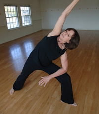 Yoga therapy with Nora Reiner Gluck at Inner Transformations